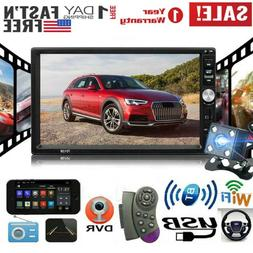 "🔥Car Stereo Radio 2 DIN 7"" HD MP5 FM Player Touch Screen"