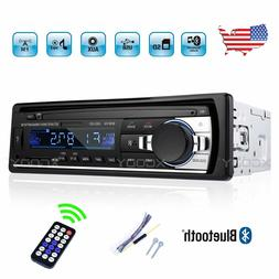 Car Stereo Radio Audio MP3 Player 1 Single DIN 4x60W USB FM