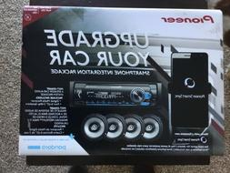 Pioneer Car Stereo Radio Digital Media Receiver & 200W Speak