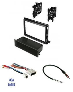 ASC Audio Car Stereo Radio Install Dash Kit Wire Harness and Antenna Adapter to Install an Aftermarket Radio for some Ford Lincoln Mercury Vehicles