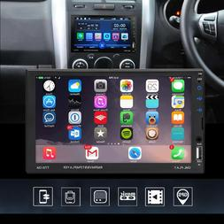 """Car Stereo Radio P Bluetooth Audio Receiver Double 2 Din 7"""""""