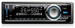 Car Stereo Receiver with Bluetooth, AM/FM radio, USB Port, S