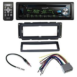 Pioneer CAR Stereo RECIEVER + Dash Install MOUNTING KIT + Wi