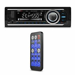 Car Stereo Wireless FM Radio Mp3 Bluetooth Receiver Deck USB