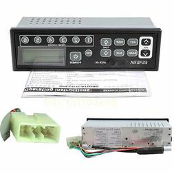 Car Truck Radio Excavator Radio 12-24V AM FM MP3 player for