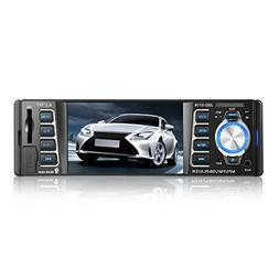 Car Vehicle Bluetooth Radio Stereo Receiver Single DIN Audio