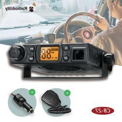 Radioddity CB-27 4W 40CH AM handheld Car Truck Vehicle Mobil