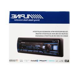 ALPINE CDE-172BT Car Stereo CD/USB Receiver w/ Advanced Blue