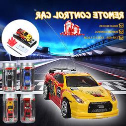 Christmas Gift Toy Coke Can Mini Speed RC Radio Remote Contr