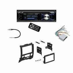 Boss in Dash Car Stereo Audio Receiver + Mounting Kit + Wire