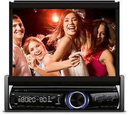 "XO Vision 7"" In-Dash Touchscreen DVD Receiver with Front USB"