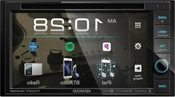 """Kenwood DDX376BT 6.2"""" in-Dash Car DVD Monitor Bluetooth Rece"""