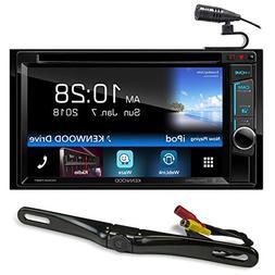 "Kenwood DDX575BT 6.2"" DVD Bluetooth Receiver Waze/Remote App"