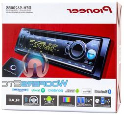 PIONEER DEH-S6200BS CD MP3 USB BLUETOOTH CAR STEREO RADIO SI