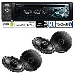 Pioneer DEH-X4800BT Single DIN In-Dash CD/AM/FM Bluetooth Ca