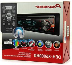 PIONEER DEH-X5800HD CD MP3 WMA USB IPOD AUX IPHONE EQUALIZER