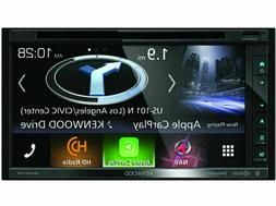 Kenwood DNX574S 2 Din AV Navigation System with Bluetooth an
