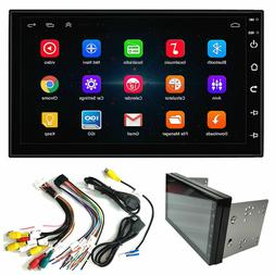 "Double 2Din Android 9.1 7"" 1080P Car pLAYER Stereo Radio GPS"