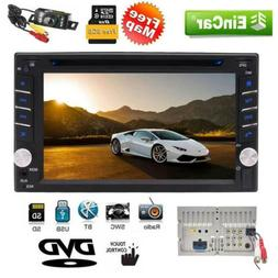 Double 2Din Capacitive TouchScreen Stereo GPS Car DVD Player