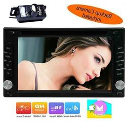 """Double Din 6.2"""" Android 6.0 GPS Navi Car Radio DVD Player St"""