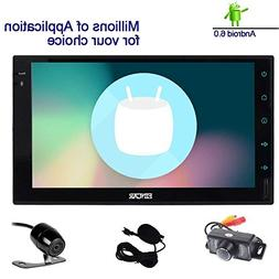 Double Din EinCar Android 6.0 Car Stereo with 7'' Full touch