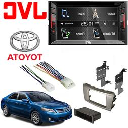 """JVC Double Din BT in-Dash DVD/CD/AM/FM Car Stereo w/ 6.2"""" To"""