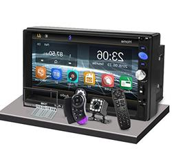 "CarThree Double Din Car Stereo 2 Din Radio 7"" LCD Touch Scre"