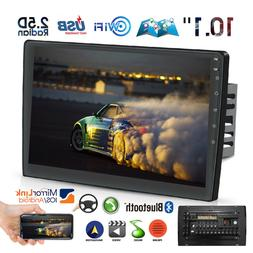 Double Din Car Stereo Radio 6.2 Inch Touch Screen DVD CD FM