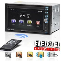 Double Din Car Stereo BOSS Audio USB SD AUX Bluetooth Radio
