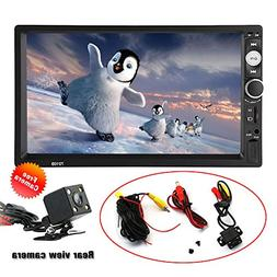 SPEEDTON 7 inch Double Din Touch Screen Car Stereo MP5/MP4/M