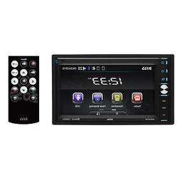 "Boss Double-DIN 320W 6.5"" Touchscreen Bluetooth Car Multimed"