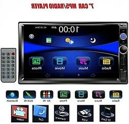 Touch Screen Bluetooth Car Stereo Mp3 Audio Video Player Rad