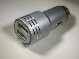 Dual USB 2 Port Car Charger Adapter Bullet For Wireless Cell