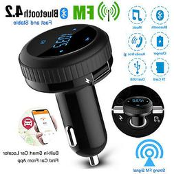 Bluetooth Car FM Transmitter Hands free MP3 Player Radio Ada