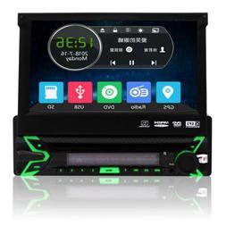 DVD Player Car Radio Single 1 Din Stereo GPS Navigation 7inc