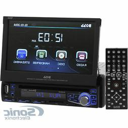 Boss Elite BV860B Bluetooth DVD/MP3/CD/AM/FM Receiver w/ 7""