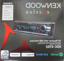 KENWOOD EXCELON KDC-X702 CAR 1-DIN CD/MP3/ 2-USB /EQ PLAYER