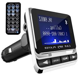 FM Transmitter, Tinzzi Bluetooth Receiver MP3 Player Wireles