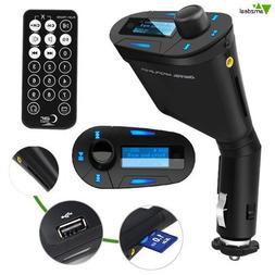 FM658 Car Kit MP3 Player Wireless FM Transmitter Modulator w