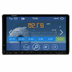 GPS Double 2Din Car Stereo Radio CD DVD Player Bluetooth wit