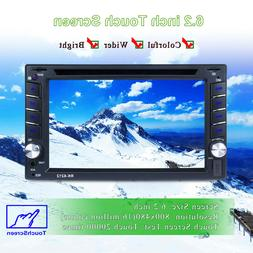 GPS Double Din Car Stereo Radio DVD MP3 Player BT with Free