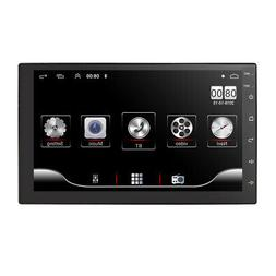 """7"""" Double 2 DIN GPS Navigation HD Car Radio Stereo Player Wi"""