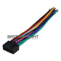 16 Pin Wire Harness for Select 2010-up JVC Car Radio CD Play