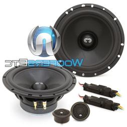 "CDT AUDIO HD-61 6.5"" HIGH DEFINITION COMPONENT SPEAKERS SILK"