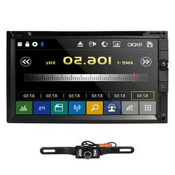 "HD Sony Lens Double 2Din 7""Car Stereo Radio DVD Player DTV B"