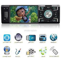BESTREE Indash Car Stereo with Bluetooth Single Din FM Radio