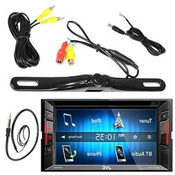 "JVC 6.2"" Inch Touch Screen Car CD DVD USB Bluetooth Stereo R"