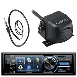 "JVC KD-AV41BT 3"" Inch Display Car CD DVD USB Bluetooth Stere"