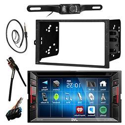 """JVC KWV120BT 6.2"""" LCD Bluetooth CD DVD Car Stereo Receiver B"""