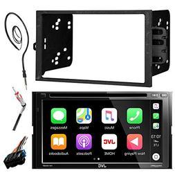 "JVC KWV420BT 7"" Touch Screen Bluetooth CD DVD Car Stereo Rec"